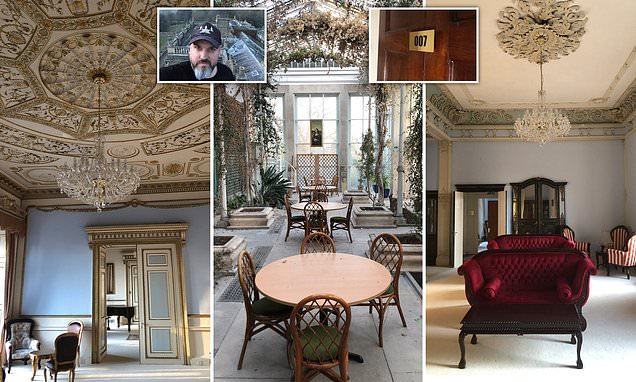 Urban explorers find abandoned mansion from Bond movie