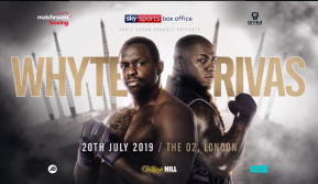 Dillian Whyte to fight unbeaten heavyweight Oscar Rivas on July 20 at the O2 Arena