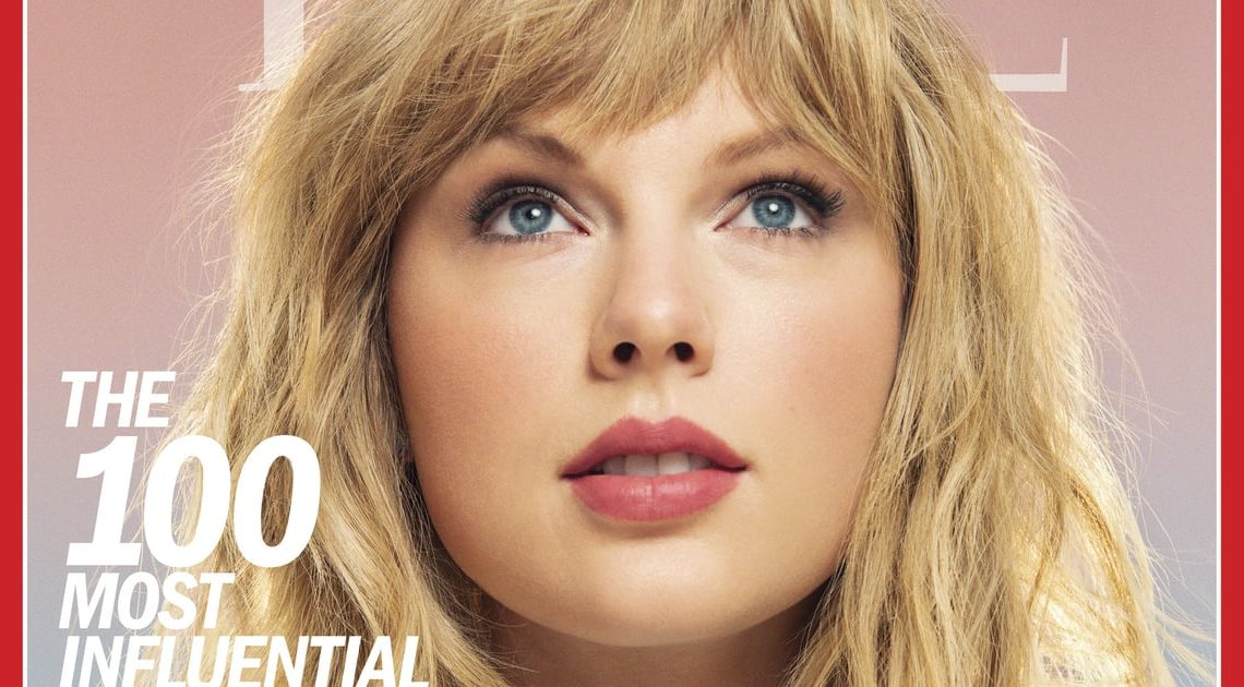 Taylor Swift Makes Time's 100 Most Influential People in the World For the Third Time