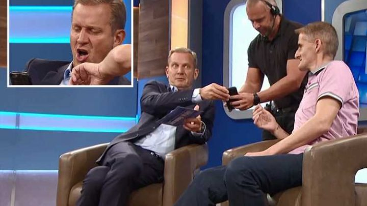 Jeremy Kyle shocks viewers by browsing porn during the show after guest's grubby video habit is revealed