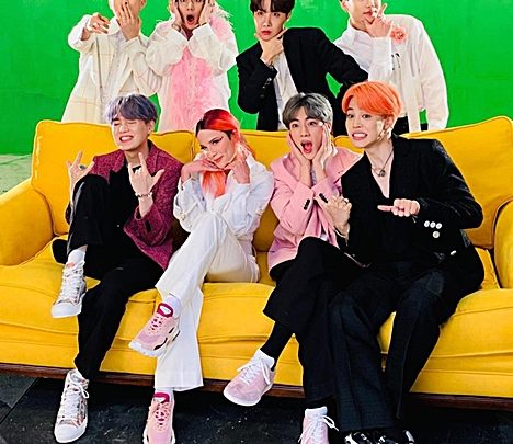 BTS Shares Some Behind-the-Scenes Footage from the Shooting of the Group's Latest Video with Halsey