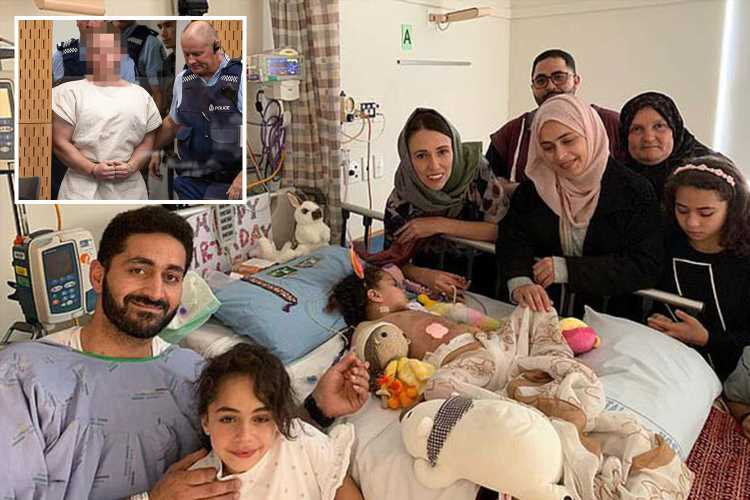 Dad wounded in New Zealand mosque shooting shares heartbreaking pics of brain-damaged daughter, 5, and demands gunman be hanged