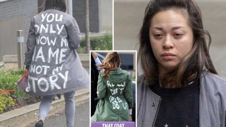 Katya Jones looks devastated after being axed from main Strictly line-up as she walks dog in Melania Trump coat