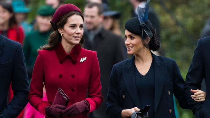 Meghan Markle and Kate Middleton Both Used This 1 Fashion Trick While Pregnant