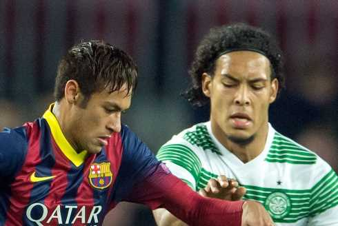 Ledley recalls when Celtic lost 6-1 to Barcelona with Van Dijk in squad… and says 'it would have been more without him'