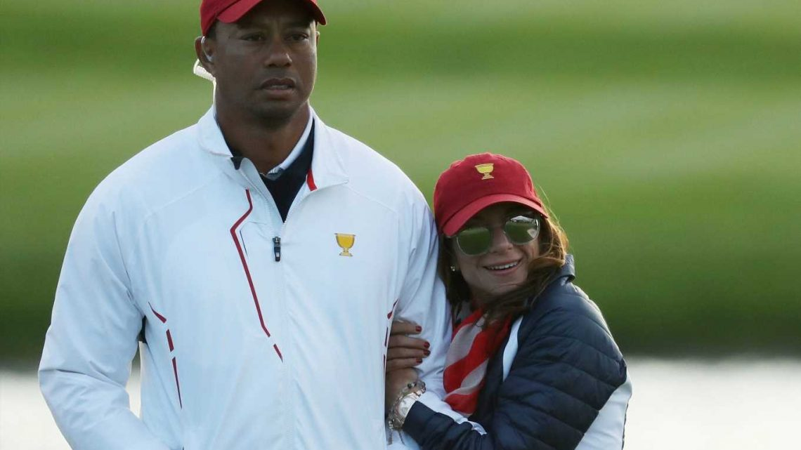 Who is Tiger Woods' girlfriend Erica Herman, and how long has Masters golf star been dating the restaurant manager?