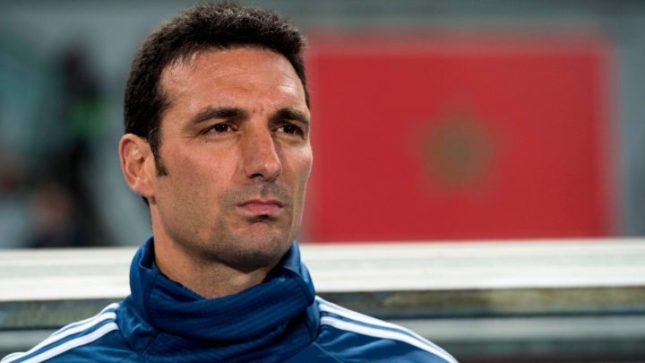Argentina boss Lionel Scaloni rushed to hospital after being hit by a car while riding his bike