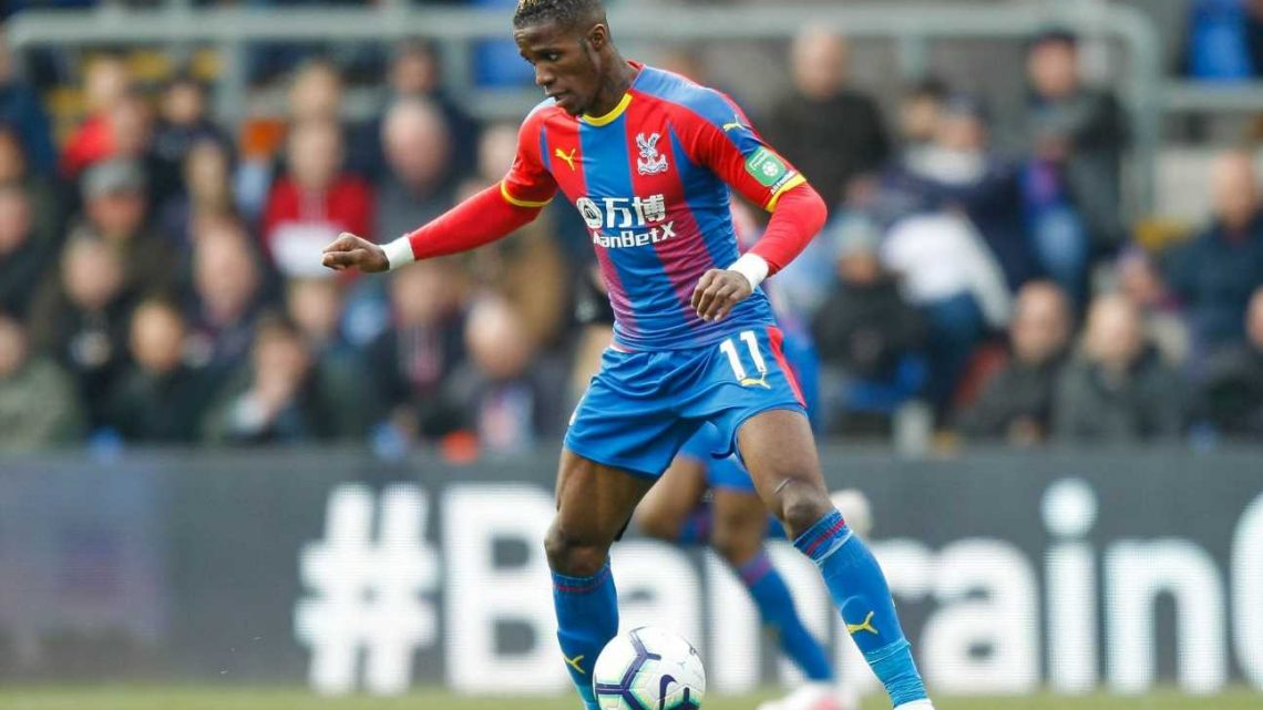 Crystal Palace open to losing Wilfried Zaha if they receive £80m transfer offer for their star winger