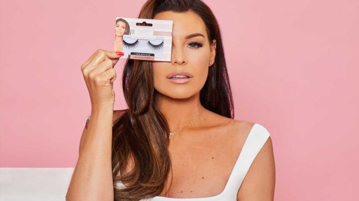 Jess Wright launches her Poundland collection featuring lashes, nails and three self-tan lotions to set you up for summer