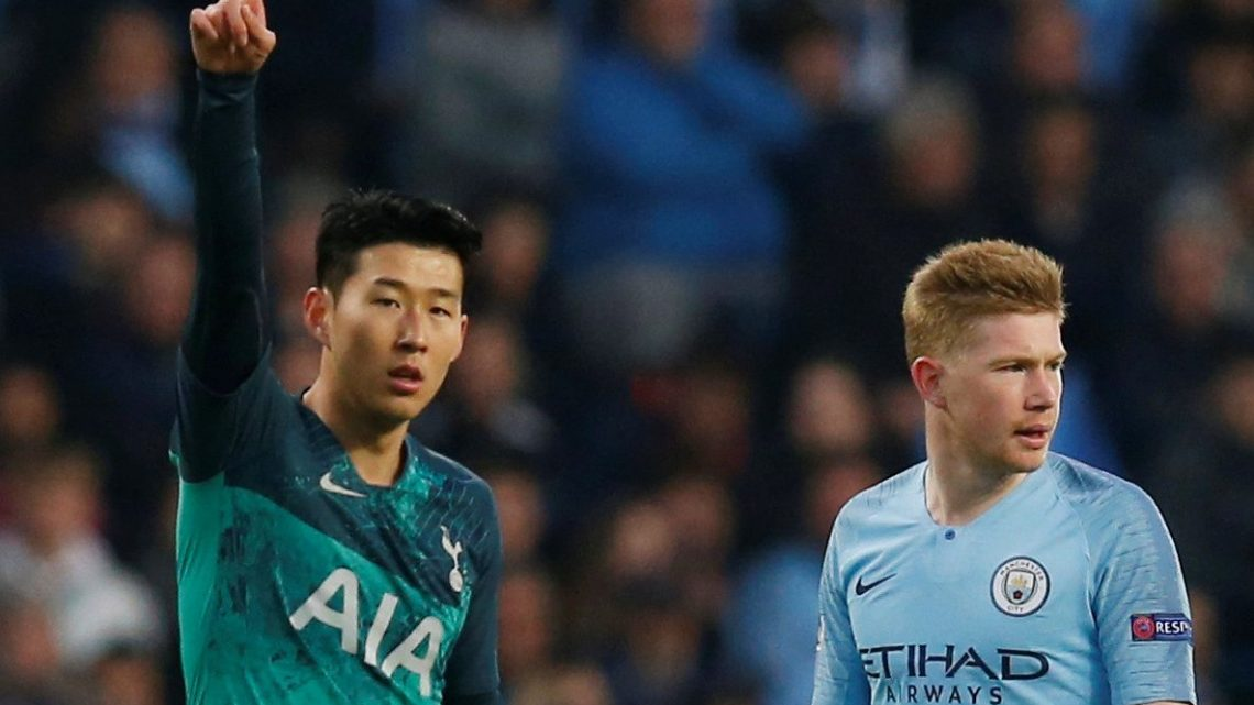 Twitter users slam Man City-Spurs kit clash in Champions League thriller