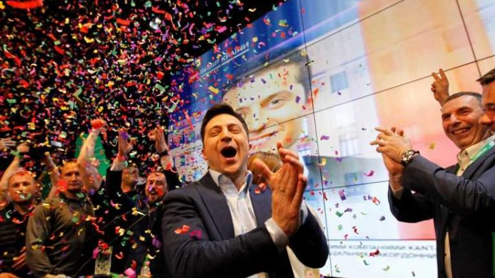 Ukraine election 2019 – who is new president Volodymyr Zelensky and what is his background?