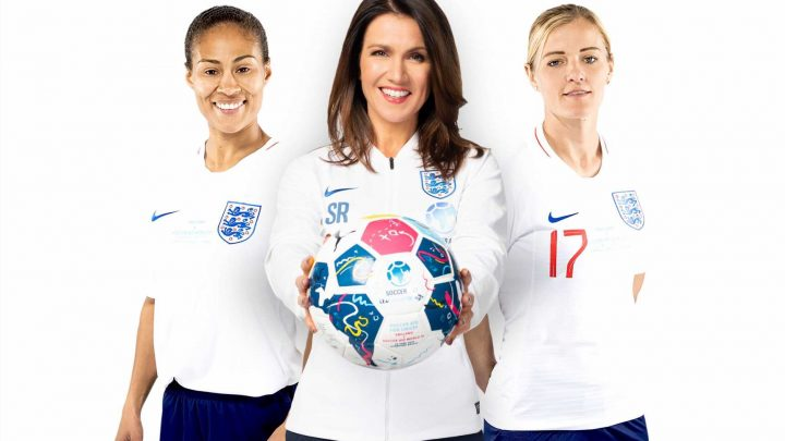 Women could play alongside men in Sunday league football as England stars Yankey and Chapman prepare for Soccer Aid