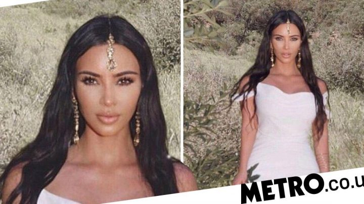 Kim Kardashian is accused of cultural appropriation – but what is a maang tikka?