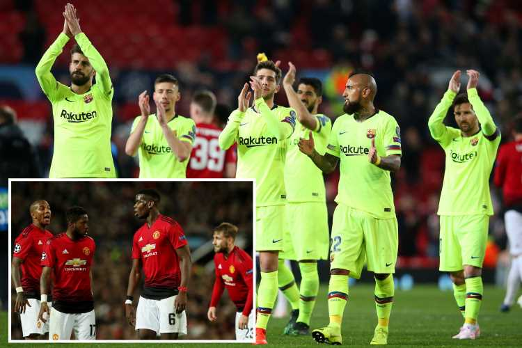 Five daunting trends Man Utd must buck to stun Barcelona and progress in the Champions League