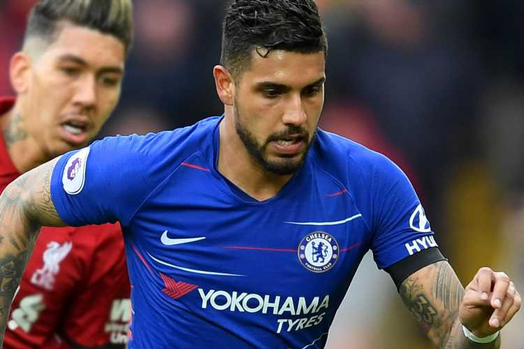 Chelsea left-back Emerson Palmieri wanted by AC Milan as Italian giants plot £22m transfer in meeting with agent