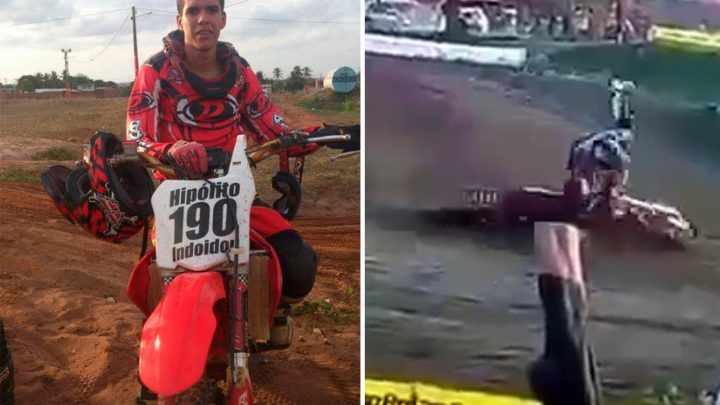 Motocross rider, 26, dies after losing control of bike and crashing in horror fall