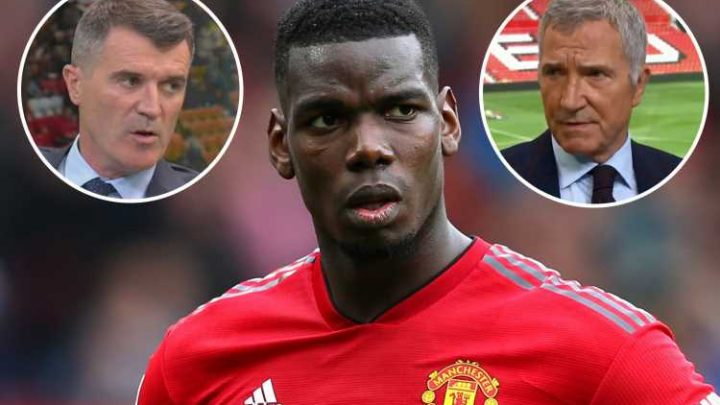 Pogba hits back at Keane and Souness over Man Utd criticism, saying 'they are paid to say things'