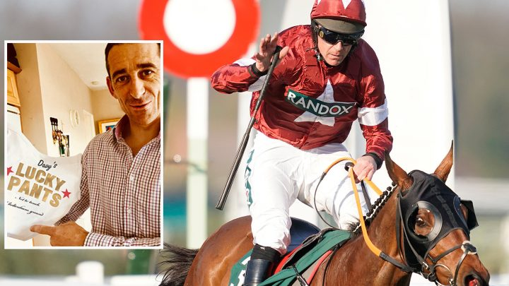 Lucky pants are the secret to Grand National hero Davy Russell's success story