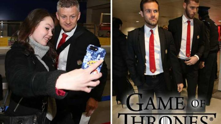 Man Utd players have a 'Game of Thrones group' that watch the hit show