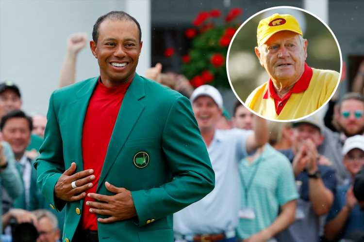 Jack Nicklaus afraid Tiger Woods will beat his record after stunning Masters win