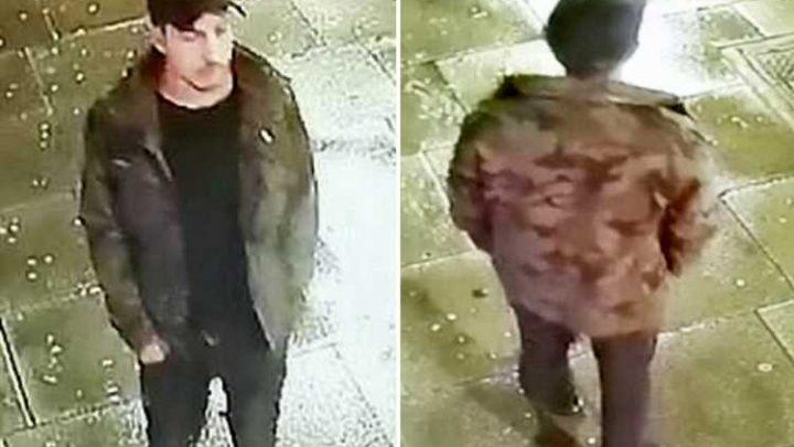 Hunt for knifeman who stabbed two men in 'random attacks'