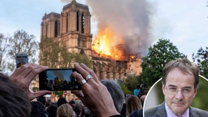 Like St Paul's did during the Blitz, let the Notre Dame fire act as a spark to relight pride in Europe's Christian values