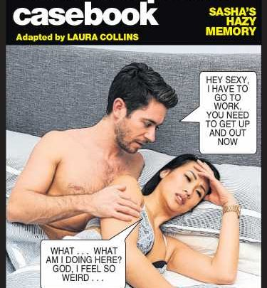 Suzy wakes up in bed with a guy she met in a bar and can't remember their night — Deidre's photo casebook