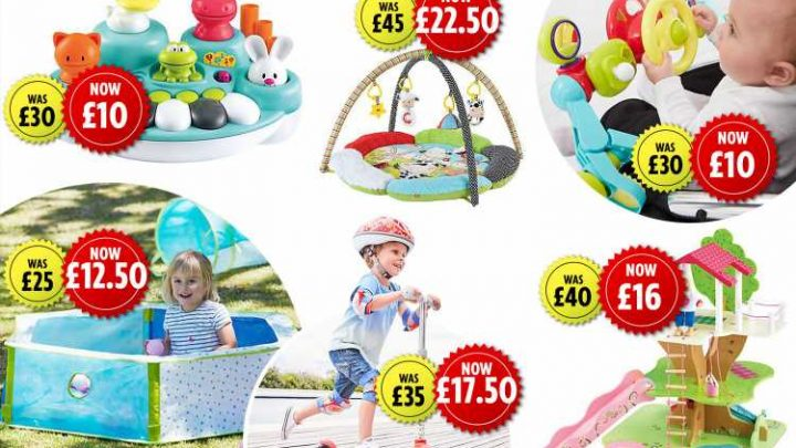 Mothercare launches toy sale with up to 70% off PLUS 3 for 2