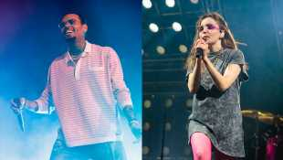 Chris Brown Says He Wishes CHVRCHES Would 'Walk In Front Of A Bus' After Band Calls Him An 'Abuser'