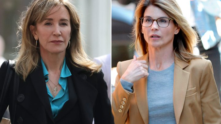 Prosecutors want jail time for Felicity Huffman and Lori Loughlin