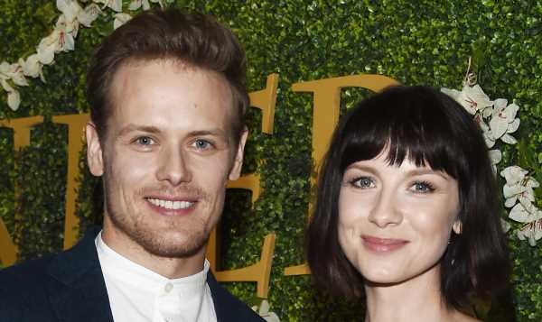 Caitriona Balfe Wishes Sam Heughan a Happy Birthday & He Responds in Her Instagram Comments!