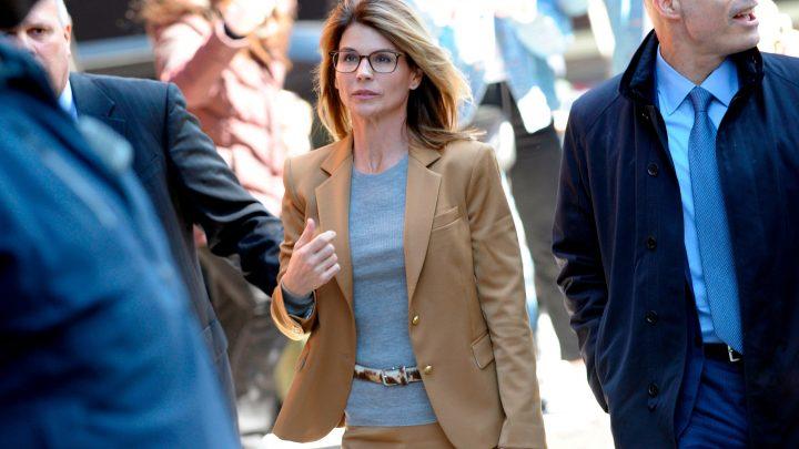 Lori Loughlin says 'I'm great' as she walks into court