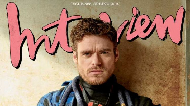 Richard Madden Looks So Hot in His 'Interview' Mag Spread!