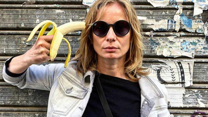 Artists mock Poland's ban on 'obscene' banana-eating artwork