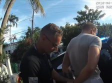 Police bodycam captures moment Conor McGregor is arrested for 'snatching and smashing fan's phone'