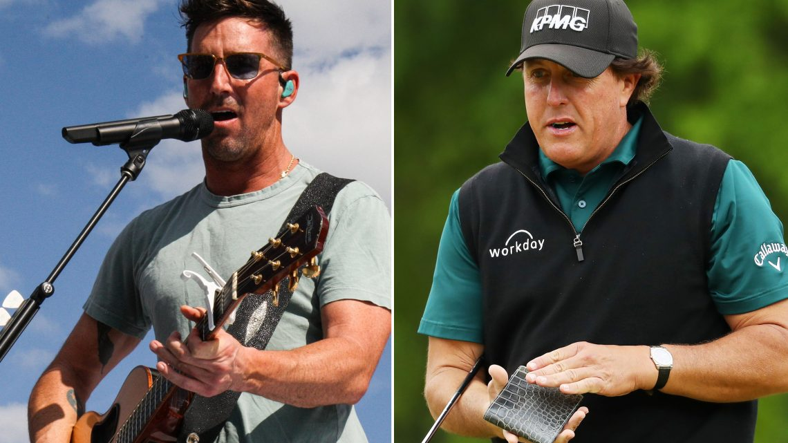 Phil Mickelson epically shuts up country music star Jake Owen: 'Go f–k yourself'