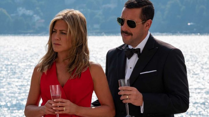 Jennifer Aniston and Adam Sandler Are in Big Trouble in Hilarious Murder Mystery Trailer