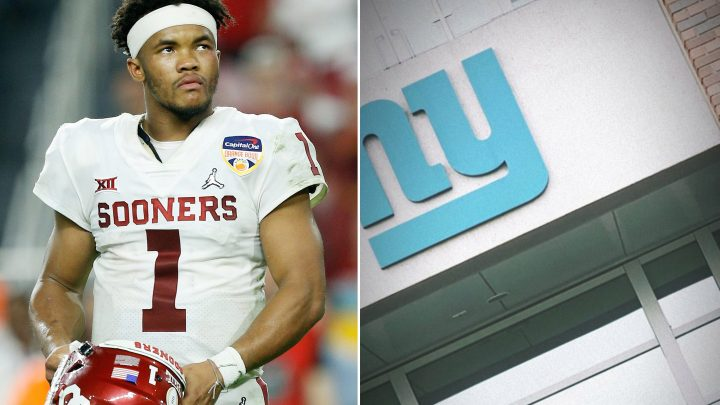 Giants add to Kyler Murray intrigue with surprise pre-NFL draft visit