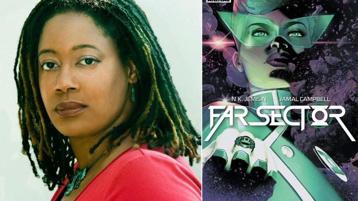 N.K. Jemisin previews her upcoming Green Lantern comic