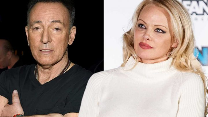 Pam Anderson wants to call Bruce Springsteen about fundraiser controversy