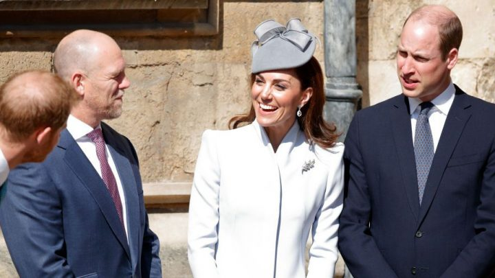 Actually, Prince Harry Made Kate Middleton Laugh at the Easter Sunday Service