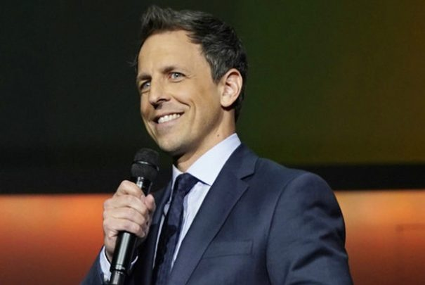'Late Night With Seth Meyers' Takes Issue With Trump's Mangled Language