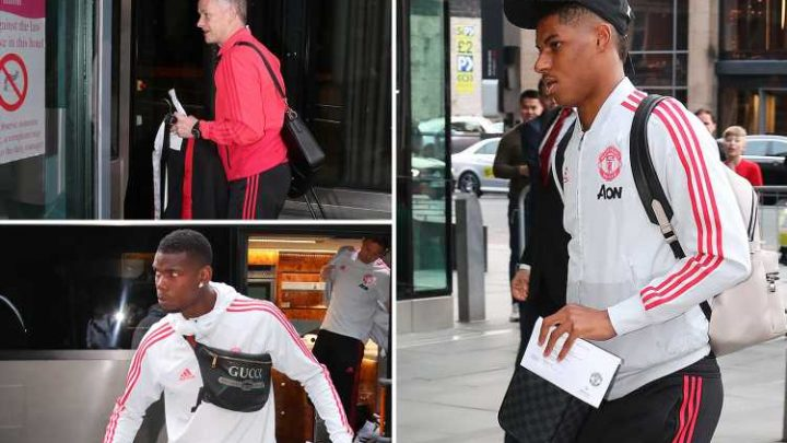 Man Utd switch hotels from Lowry to Hilton in city centre on eve of Man City clash