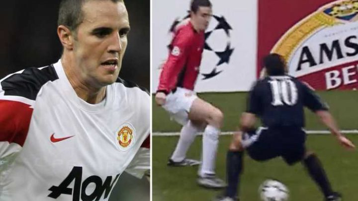 Man Utd fans reminiscing about the best and worst of O'Shea with Figo nutmeg and the 'worst shot in history'