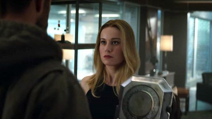 Brie Larson's 'New Girl' Captain Marvel Rubs the Avengers the Wrong Way in New Endgame Clip