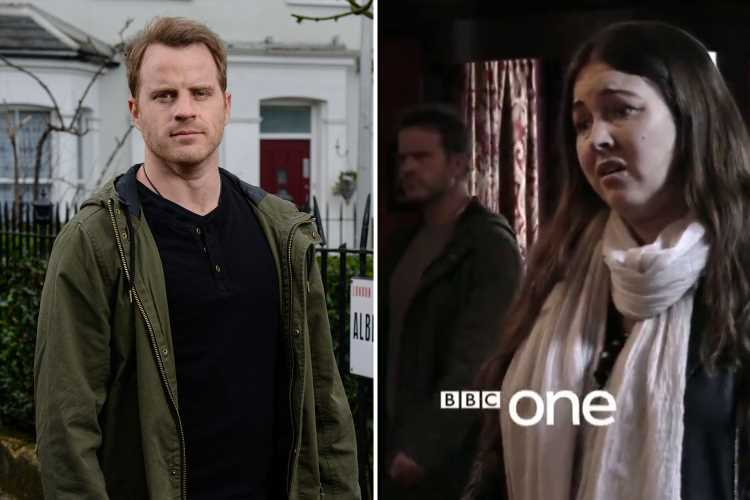 EastEnders reveals first look at Sean Slater's return after 10 years away from the Square as he's reunited with sister Stacey