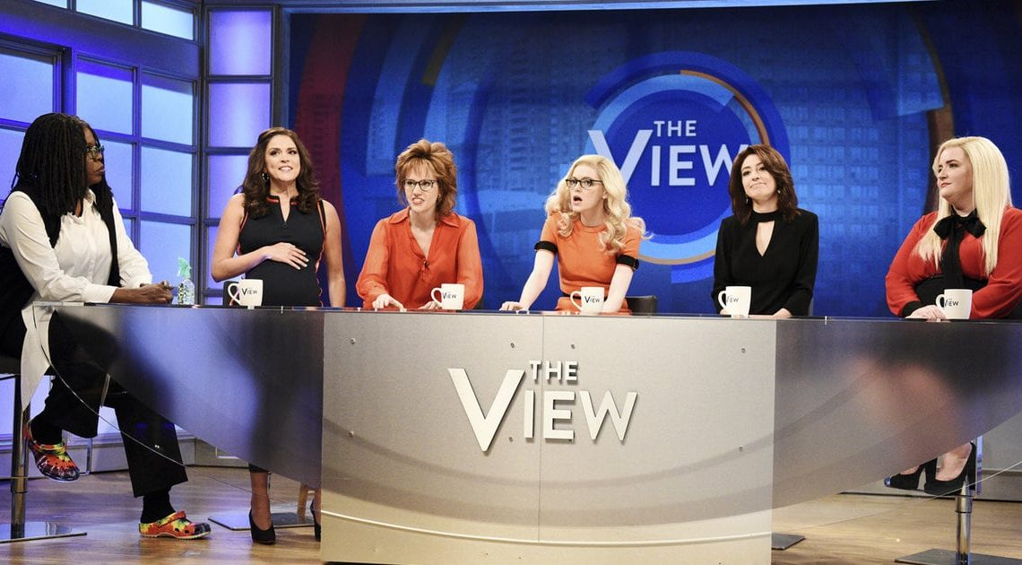 Here's What the Real Women of 'The View' Thought About That Hilarious 'SNL' Parody