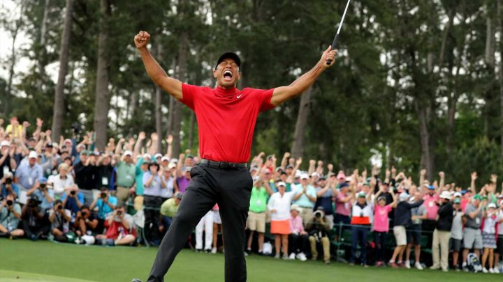 Tiger Woods' wait is over after heart-stopping final Masters round