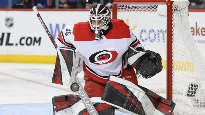 Hurricanes' backup goalie plays unlikely hero in Game 2 win after starter goes down