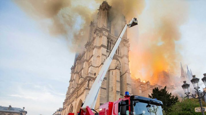 Massive Notre Dame Cathedral donations draw high-profile backlash